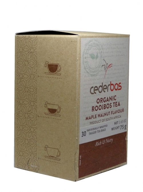 Organic Rooibos Tea - Maple & Walnut