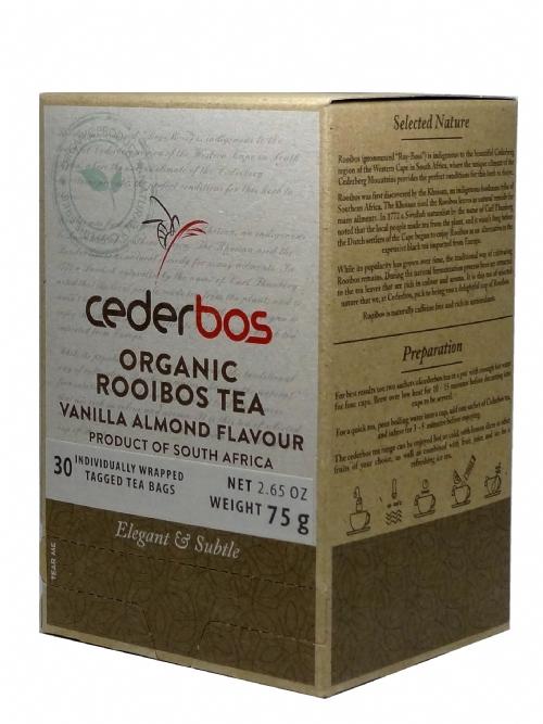 Organic Rooibos Tea - Vanilla & Almond