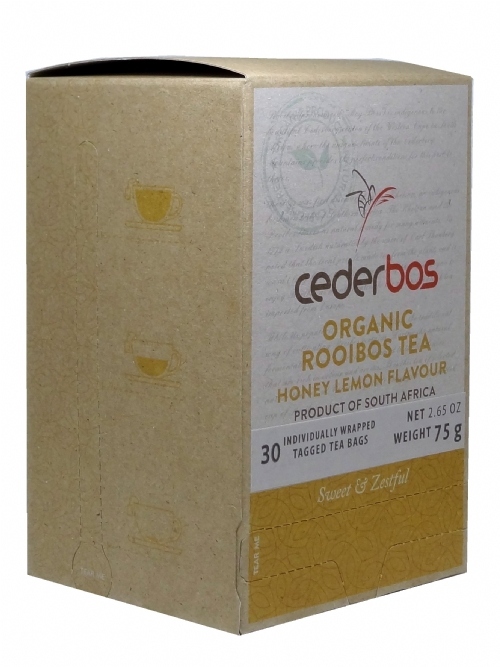 Organic Rooibos Tea - Honey & Lemon