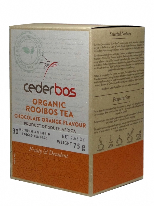 Organic Rooibos Tea - Chocolate & Orange