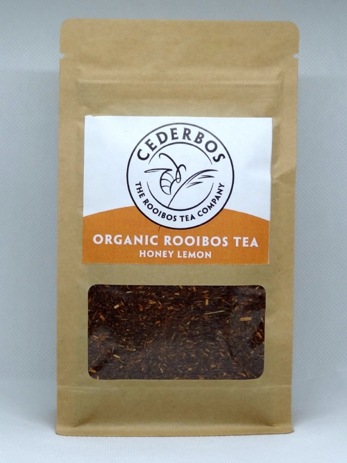 Organic Rooibos Tea (Loose Leaf) - Honey & Lemon