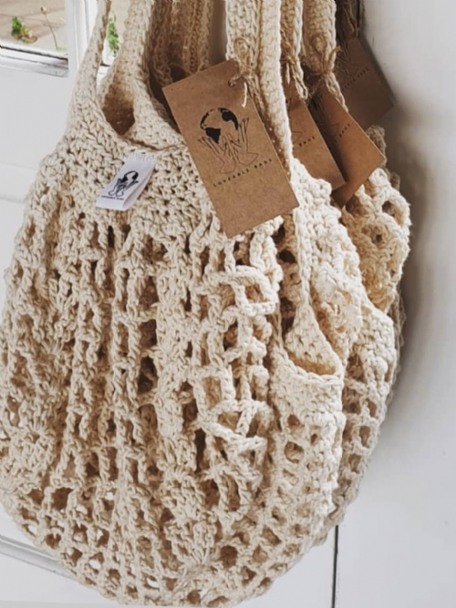 Crocheted Shopper/Beach Bag