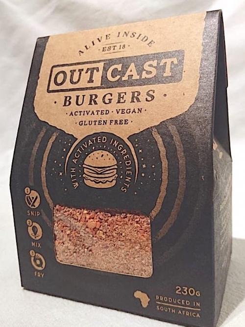 Activated Burger Mix