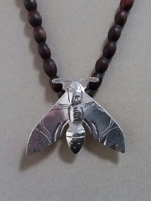 Hawk Moth Necklace