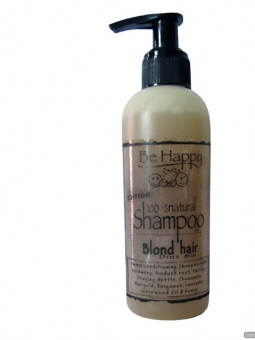 Be Happy Natural Shampoo - Dios Mio (for blond hair)