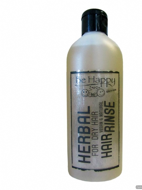 Be Happy Herbal Hair Rinse - for dry hair