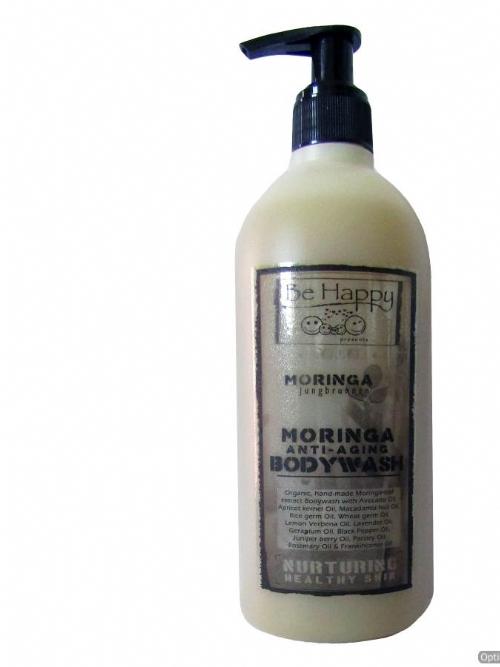 Be Happy Creme Bodywash  ~ Moringa V (anti-aging)