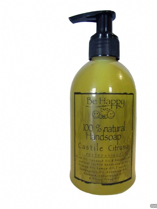 Be Happy Castile Hand Soap