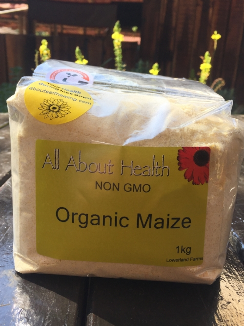 Organic Maize Meal, 1kg