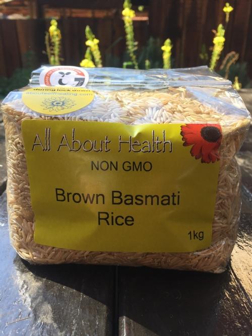 Brown Basmati Rice, 1kg