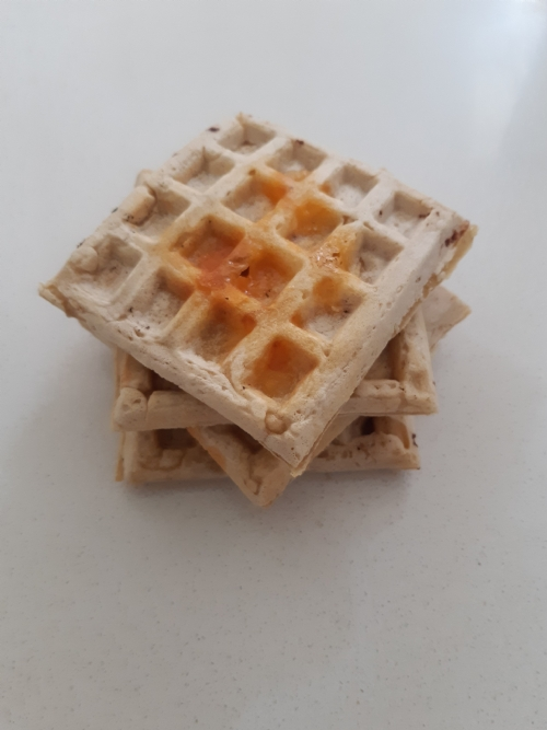 Cheese Waffle - frozen (can be heated in toaster)