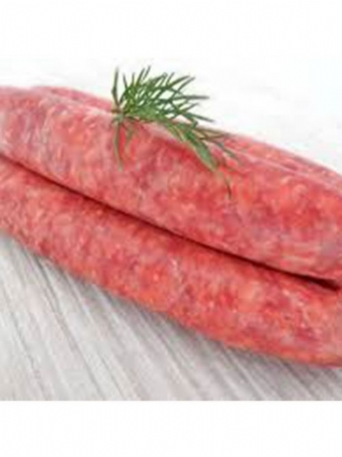 Beef Sausages (thin), 500g