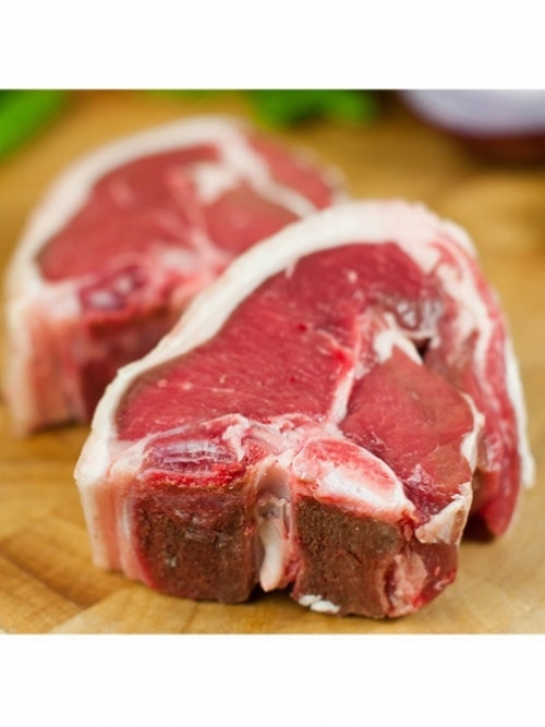 Lamb loin chops, 4 x 120g