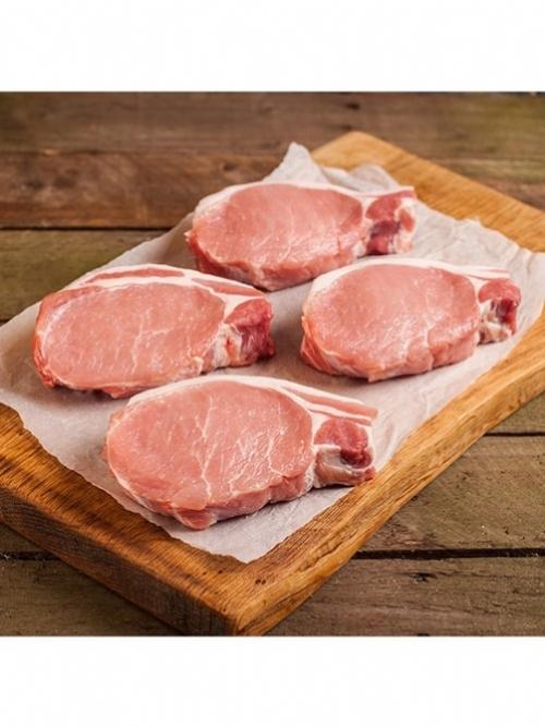 Pork Loin Steaks, 2 x 250g