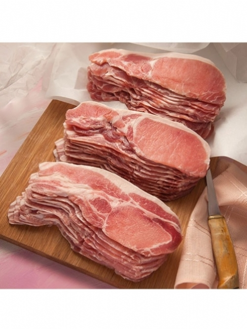 Pork Back Bacon, 250g