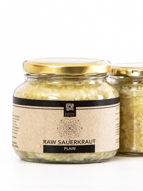 Raw Sauerkraut - Plain, 1L
