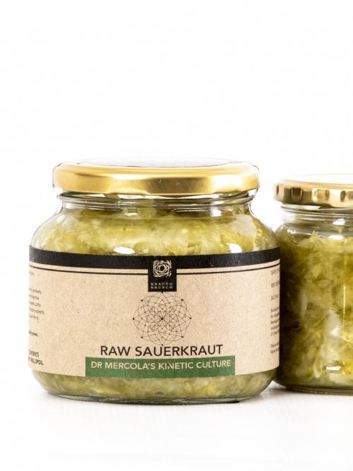 Raw Sauerkraut - Dr Mercoloa