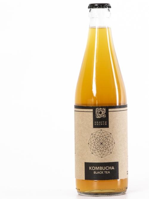 Kombucha - Black Tea, 750ml