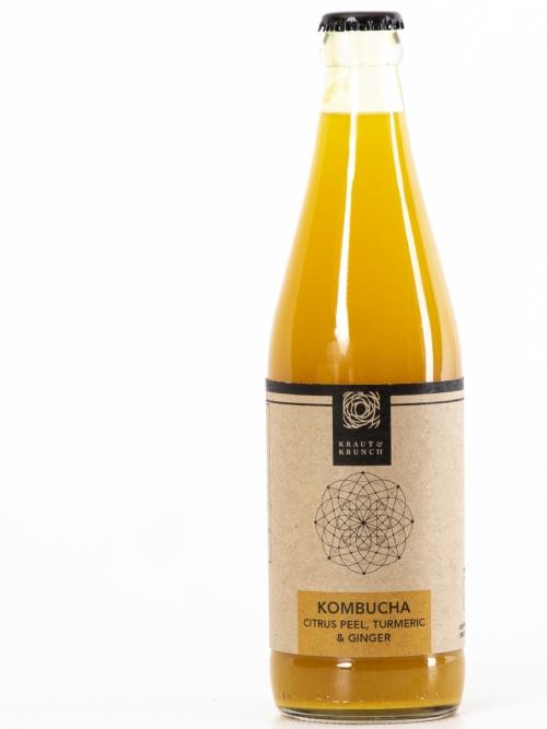 Kombucha - Citrus Peel, Turmeric, Ginger, 750ml