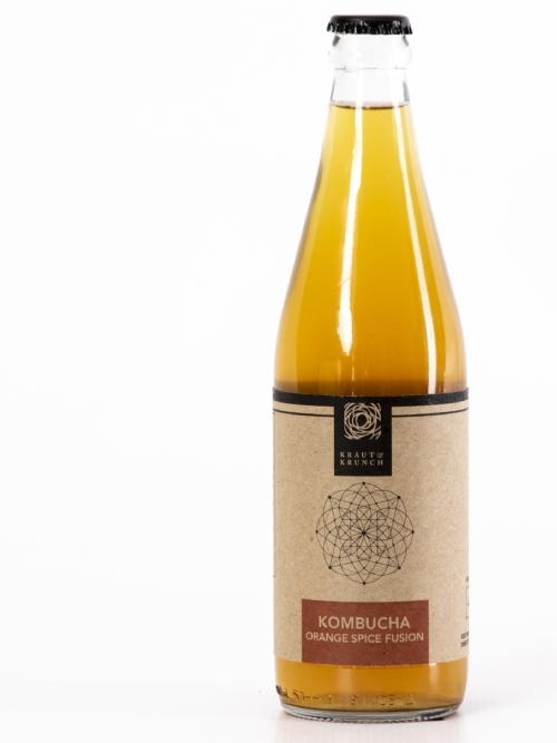 Kombucha - Tepane & Orange Spice, 750ml - DEAL OF THE MONTH - WAS R95