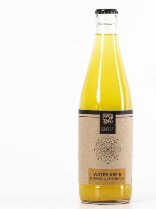 Water Kefir - Turmeric Lemonade, 750ml