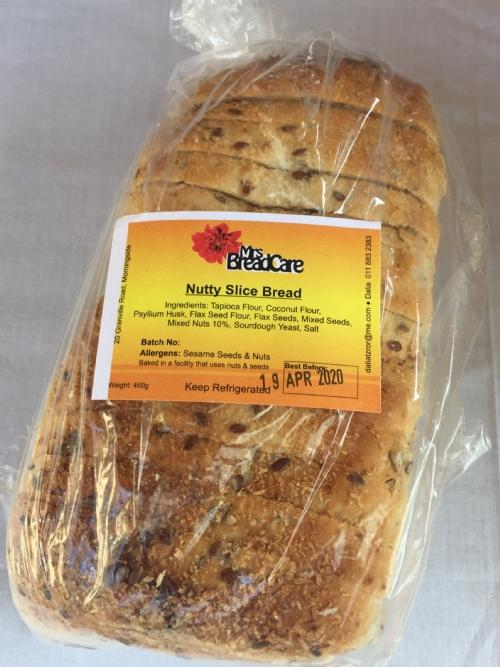 Nutty Slice Bread