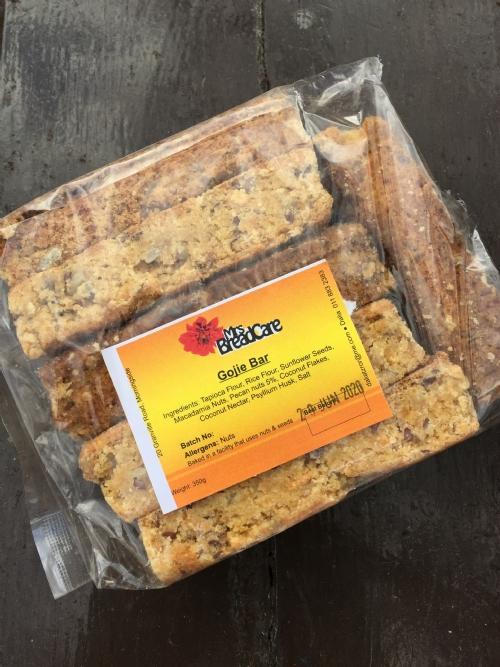 Energy Gojie Seed Bars, 6 bars per pack