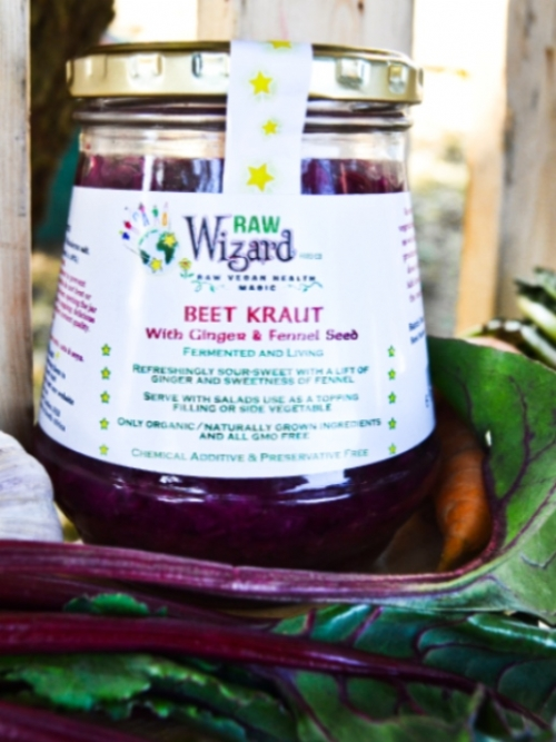 Beet Kraut With Ginger & Fennel Seed, 330g