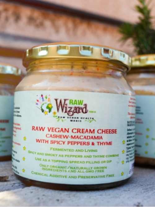 Vegan Cream Cheese - Spicy Peppers Thyme, 260g