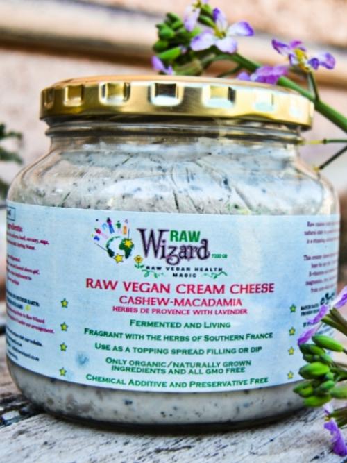 Vegan Cream Cheese - Cashew Macadamia Herbes De Provence, 500g