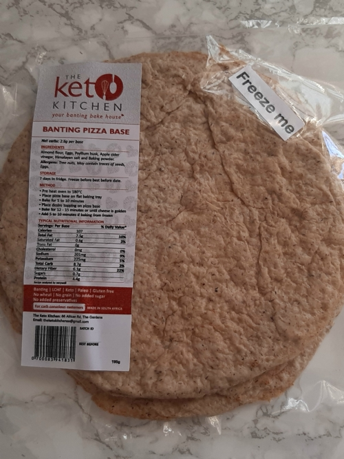 Banting Pizza Bases, 4 per pack
