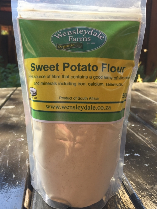 Sweet Potato Flour - organic, 500g
