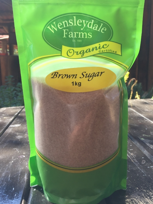 Sugar Raw Brown - organic, 1kg