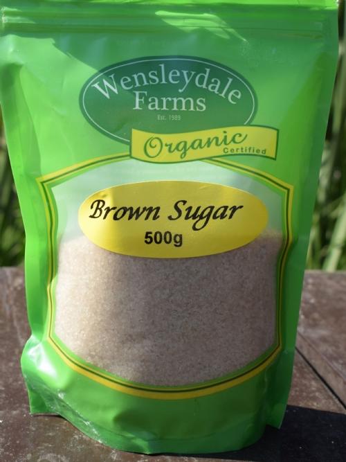 Sugar Raw Brown - organic, 500g