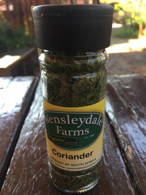 Wens Organic Dried Herbs Coriander - 10g