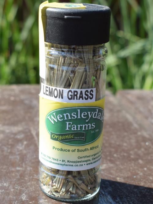 Wens Organic Dried Herbs Lemongrass 10g