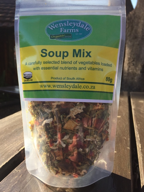 Wens Organic Dehydrated Soup Mix - 80g