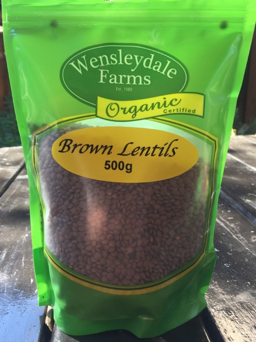 Lentils Brown 500g - organic (CERES)