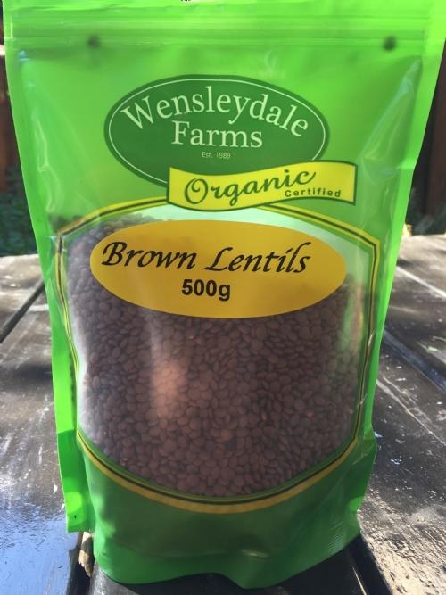 Lentils Brown 500g - organic (CERES)
