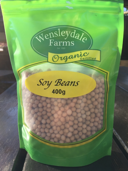 Soybeans 400g - organic (CERES)