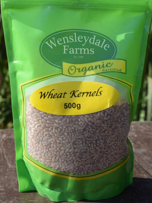 Whole Wheat Kernels 500g - organic (CERES)