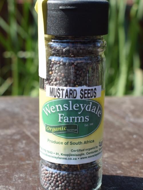 Wens Organic Mustard Seeds 80g