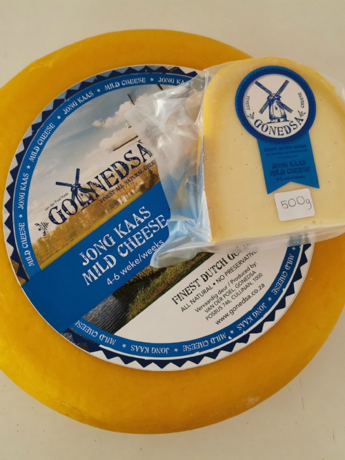 Traditional Dutch Gouda - Jong Kaas (4-6 Weeks) - 500g