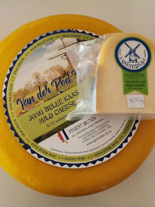 Traditional Dutch Gouda - Jong Belee (8-12 Weeks) - 500g