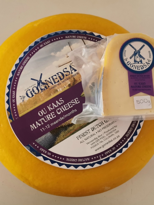 Traditional Dutch Gouda - Ou Kaas (1 Year) - 500g