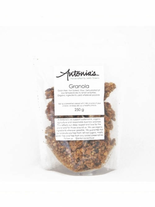 Granola - Raw, Sprouted & Dehydrated, 250g