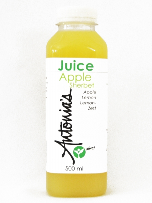 Apple Sherbet Juice, Cold-Pressed, 500ml
