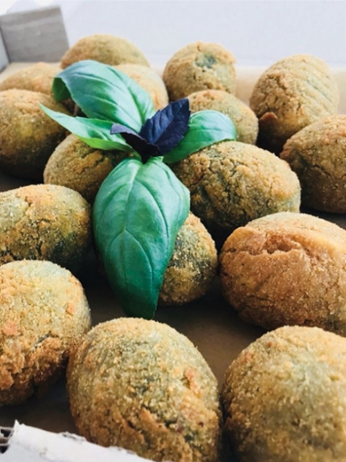 Spinach Croquettes, Frozen
