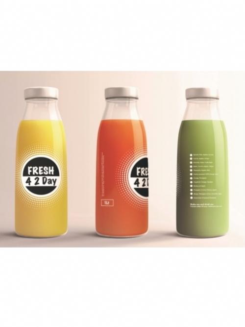 Freshly Pressed Juice - Green, 1L