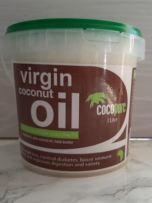Extra Virgin Coconut Oil, 1L